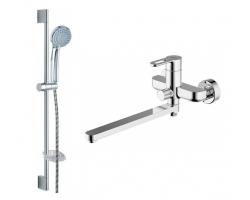 Комплект смесителей для ванной комнаты Bravat Stream-D F00412C