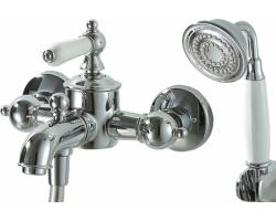 Смеситель для ванны с душевым комплектом Bravat Art F675109C-B