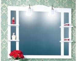Зеркало Бриклаер Анна 120 (белое)