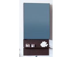 Зеркальный шкаф Бриклаер Аргентина 50 (венге)