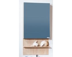 Зеркальный шкаф Бриклаер Аргентина 50 (дуб бордолино)