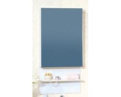 Зеркальный шкаф Бриклаер Аргентина 50 (светлая лиственница)