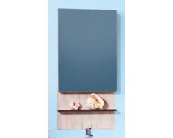 Зеркальный шкаф Бриклаер Карибы 50 (дуб кантри-венге)