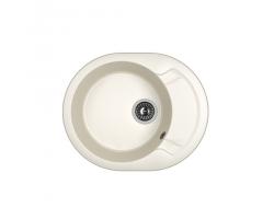 Кухонная мойка Dr.Gans Берта 580 25.040.B0580.401 белый (580х470 мм)