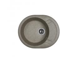 Кухонная мойка Dr.Gans Берта 580 25.040.B0580.407 черный (580х470 мм)