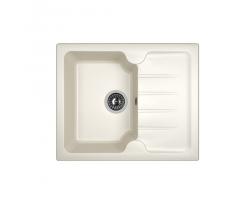 Кухонная мойка Dr.Gans Лора 620 25.020.A0620.401 белый (620х510 мм)
