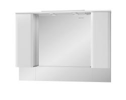Зеркало-шкаф Edelform Amata 120 117 см. 35642 (белое)