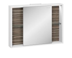 Зеркало-шкаф Edelform Belle 100 95 см. 2-763-44 (макассар-белый)