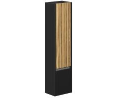 Пенал Edelform Carino 38 37 см. 3-739-43-R (чёрный-эбони, подвесной, правый)