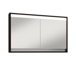 Зеркало-шкаф Edelform Constante 100 100 см. 2-667-14-S (венге)