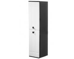 Пенал Edelform Deco 33 33 см. 3-628-26 (черно-белый, подвесной)