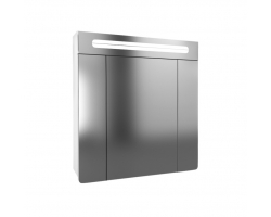 Зеркало-шкаф Edelform Glass 80 75 см. 2-691-00-S (белое)