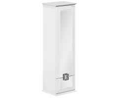 Пенал Edelform Millarita 45 45 см. 3-682-00 (белый, зеркальный фасад)