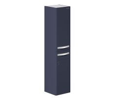 Пенал Edelform Nota 38 35 см. 3-619-20 (серый, подвесной, с бельевой корзиной)