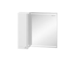 Зеркало-шкаф Edelform Nota 75 70 см. 2-641-00-S (белое)