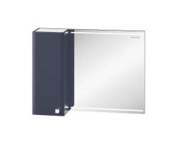 Зеркало-шкаф Edelform Nota 85 83 см. 35810 (серое)
