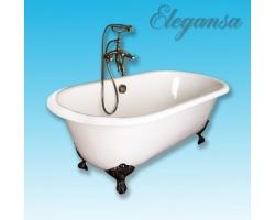 Чугунная ванна Elegansa Gretta bronze 170x75 V0000141