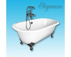 Чугунная ванна Elegansa Gretta chrome 170x75 V0000047