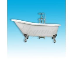 Чугунная ванна Elegansa Schale chrome 170x75 Н0000202