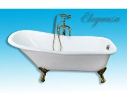 Чугунная ванна Elegansa Schale gold 170x75 Н0000261
