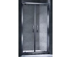Дверь для душа Esbano ES-100-2DV 100 см. 100х195 (распашная, прозрачное стекло)