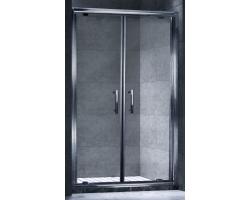 Дверь для душа Esbano ES-120-2DV 120 см. 120х195 (распашная, прозрачное стекло)