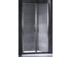 Дверь для душа Esbano ES-120-2LD 120 см. 120х195 (распашная, прозрачное стекло)