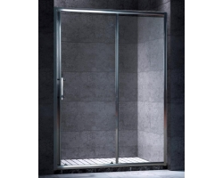 Дверь для душа Esbano ES-120DK 120 см. 120х195 (раздвижная, прозрачное стекло)