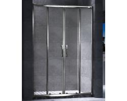 Дверь для душа Esbano ES-120DW 120 см. 120х195 (раздвижная, прозрачное стекло)