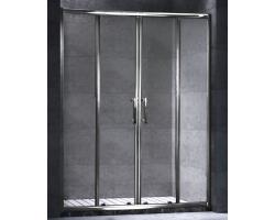 Дверь для душа Esbano ES-140DW 140 см. 140х195 (раздвижная, прозрачное стекло)