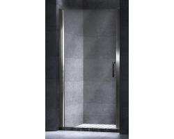 Дверь для душа Esbano ES-80LD Left 80 см. 80х195 (распашная, прозрачное стекло, левая)