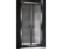 Дверь для душа Esbano ES-90-2DV 90 см. 90х195 (распашная, прозрачное стекло)