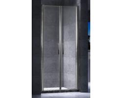 Дверь для душа Esbano ES-90-2LD 90 см. 90х195 (распашная, прозрачное стекло)