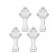 Ножки каменные для ванны Эстет Скарлет, Эстет Марсель и Эстет Венеция (ФР-00001314) (белые)