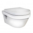 Унитаз подвесной Gustavsberg Hygienic Flush WWC 5G84 (5G84HR01) (безободковый) (без крышки)