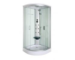 Душевая кабина Luxus 836 90х90 (прозрачное стекло, низкий поддон)