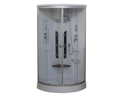 Душевая кабина Luxus Selesia 023D 90х90 (прозрачное стекло, низкий поддон)
