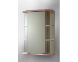 Зеркало Спектр Герда 55 (розовое, с подсветкой)