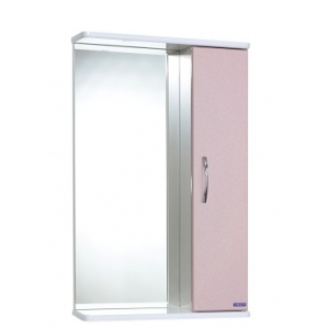 Зеркало Спектр Прима 50 (розовое, без подсветки)