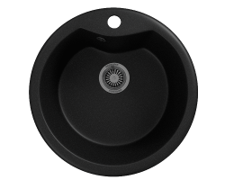 Кухонная мойка Merkana Модель 2 48х48 см. 34887 (чёрная)