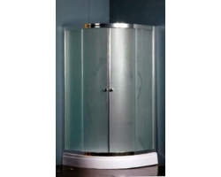 Душевой угол Nautico SWВ - 8025 100х100 (матовое стекло, низкий поддон)