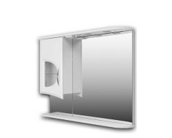 Зеркало Норта-Аква Астор 14 стеклянная вставка