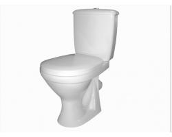 Унитаз напольный Оскольская керамика Суперкомпакт 44901110002 (антивсплеск, белый)