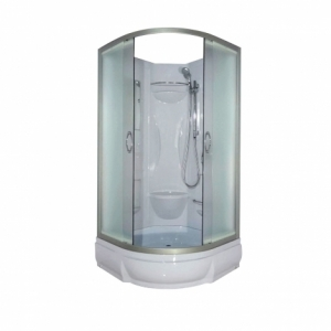 Душевая кабина River Rein Б/К 90/26 МТ 90х90 (матовое стекло, низкий поддон, без крыши)