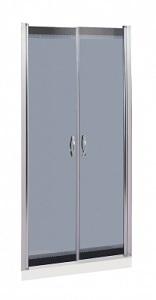 Дверь для душа River Suez 90 TH 90х90 (тонированное стекло)