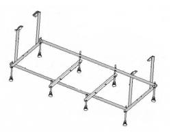 Монтажный комплект Roca Easy 170х75 Z.RU93.0.290.0 (ZRU9302900)