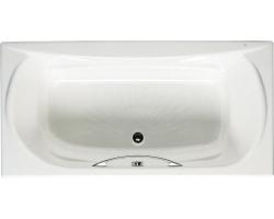 Чугунная ванна Roca Akira 170x85 7.2325.G.000.R (2325G000R) (с противоскользящим покрытием и отверстием под ручки)