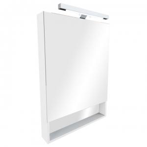 Зеркало-шкаф Roca Gap 60 ZRU9302885 60 см. (белое, глянцевое)