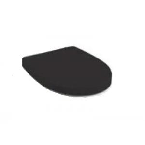 Крышка-сиденье для унитаза Roca Victoria Nord ZRU9302627 (дюропласт, микролифт, чёрная)