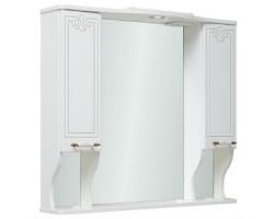 Зеркало Руно Кантри 85 (белое)